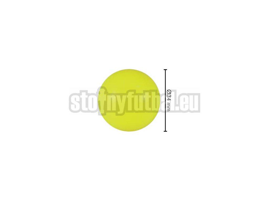 Lopta pre stolný futbal žltá