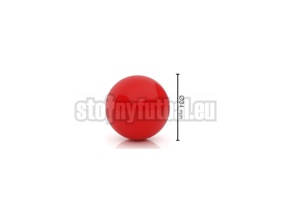 Lopta pre stolný futbal červená