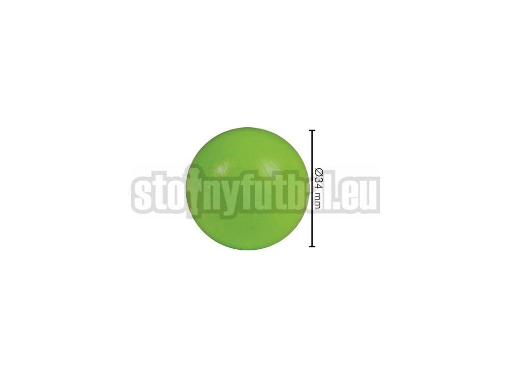 Lopta pre stolný futbal zelená
