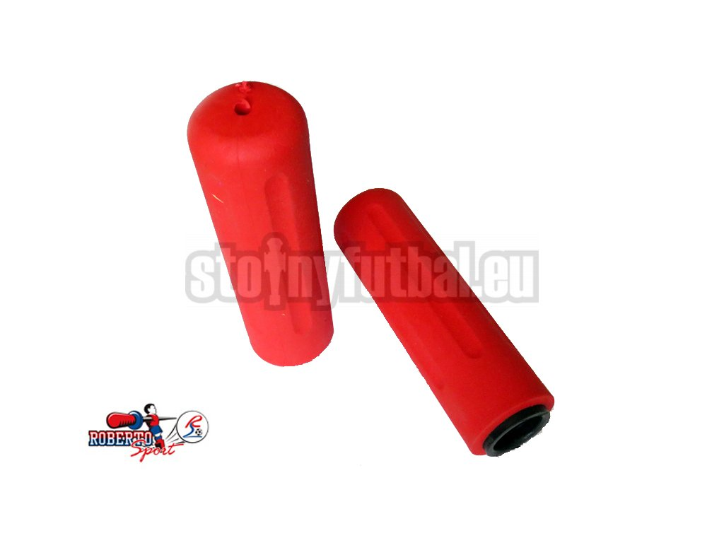 Pogumovaná rúčka Roberto Sport tyče 18mm - červená
