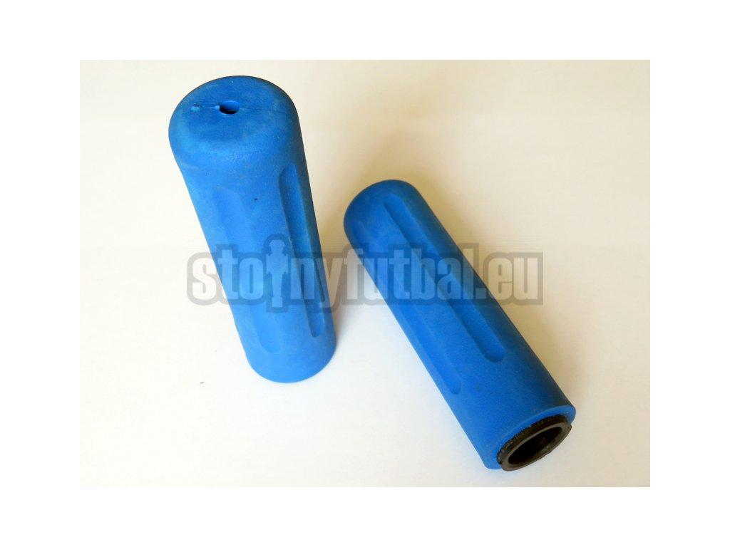 Pogumovaná rúčka Roberto Sport tyče 18mm - modrá