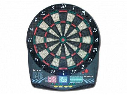 Šípkový elektronický terč Equinox by Garlando, ANTARES, pro 1-16 hráčov