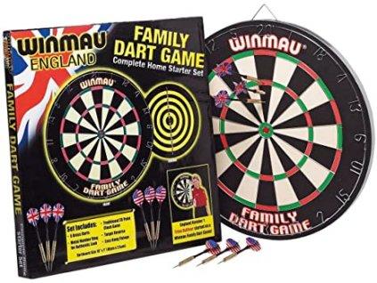 Šípkový terč WINMAU Family Dart Game