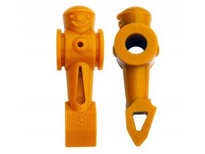 Hráč Hoffmann 16 mm žltý