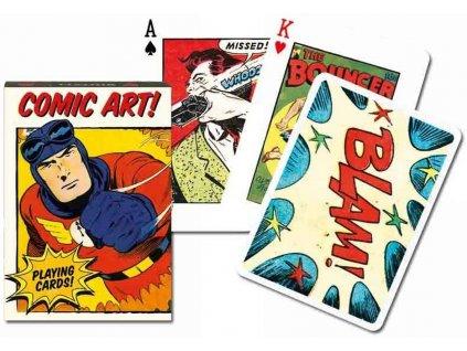Poker karty Piatnik Vintage Comic Art