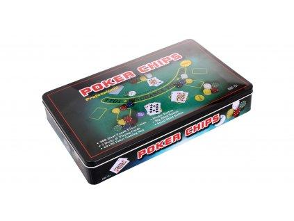 Poker Box 300 sada na poker