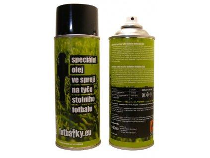 Špeciálny olej na tyče stolného futbalu