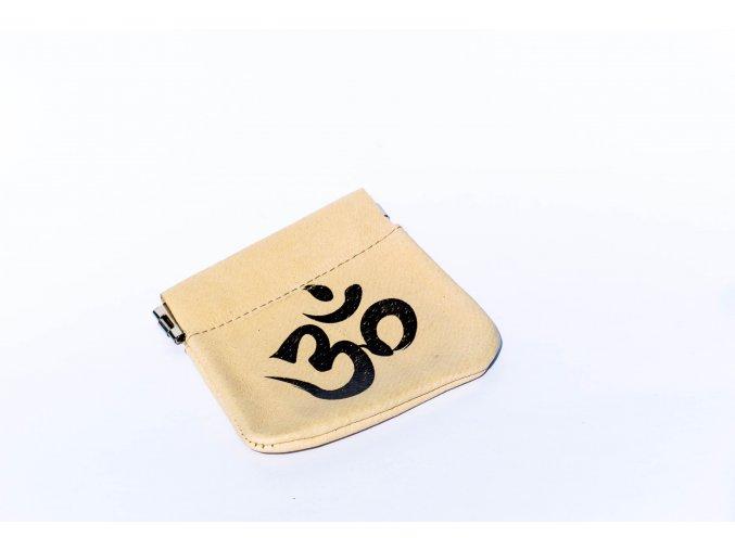 Peněženka na drobné symbol OM