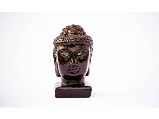 Buddha - soška hlava velká 50x55x105mm