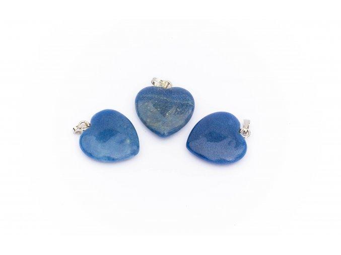 Přívěšek lapis lazuli/ lazurit srdce