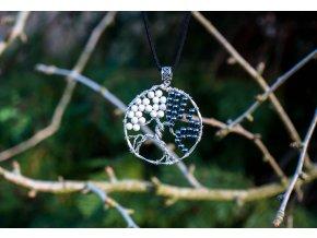 """Přívěsek strom života """"JIN&Jang"""", průměr 5cm"""