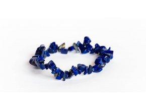 Lapis lazuli náramek sekaný