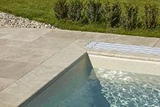 Bazénové lemy, parapety, schody