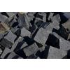 Čedič dlažební kostky pr. 4x6 cm 1t = 9 m2