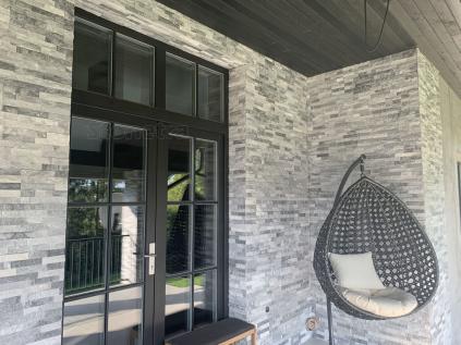 Ice grey - remínkový obkladový panel 60x15cm