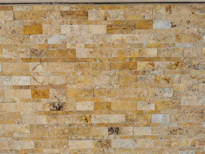 Travertin Gold panel 60 cm x 15 cm x 1,5 – 2,5 cm