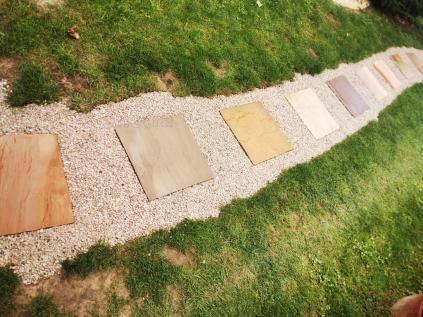 Pískovec Mint 40x40 cm, hr. 2,5-3 cm