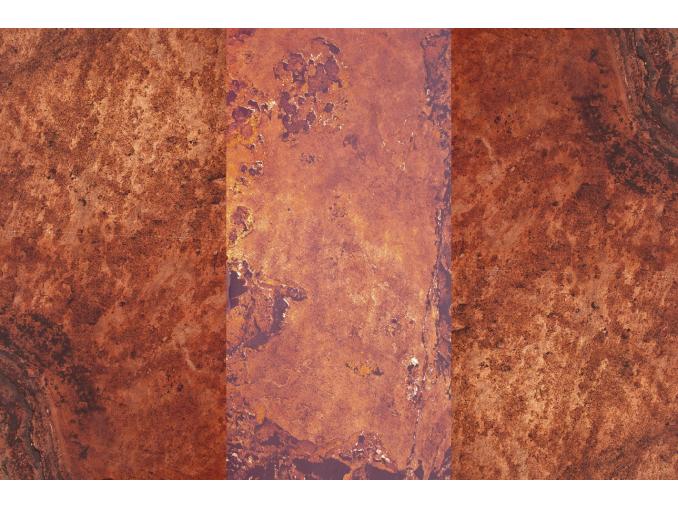 Terra Red Transparentná - kamenná dýha