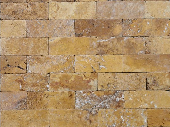 Travertin Classic 20,3 cm x 7,5 cm x 1 cm omielané