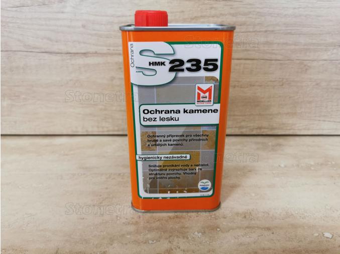 HMK - S 235  matné zvýraznění barvy, interiér - 1 l