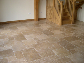Walnut Tumbled Filled Travertine