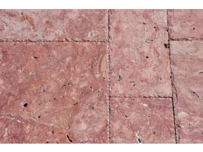Travertin francouzský  vzor Red hr. 1, 2 cm
