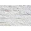 Mramor bílý - kamenný obklad 4x řezaný