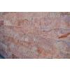 Travertin Red - kamenný obklad 4x řezaný