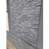 Mramor černý - řemínkový kamenný obklad/panel
