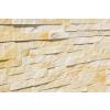 Mramor žlutý - řemínkový kamenný obklad/panel