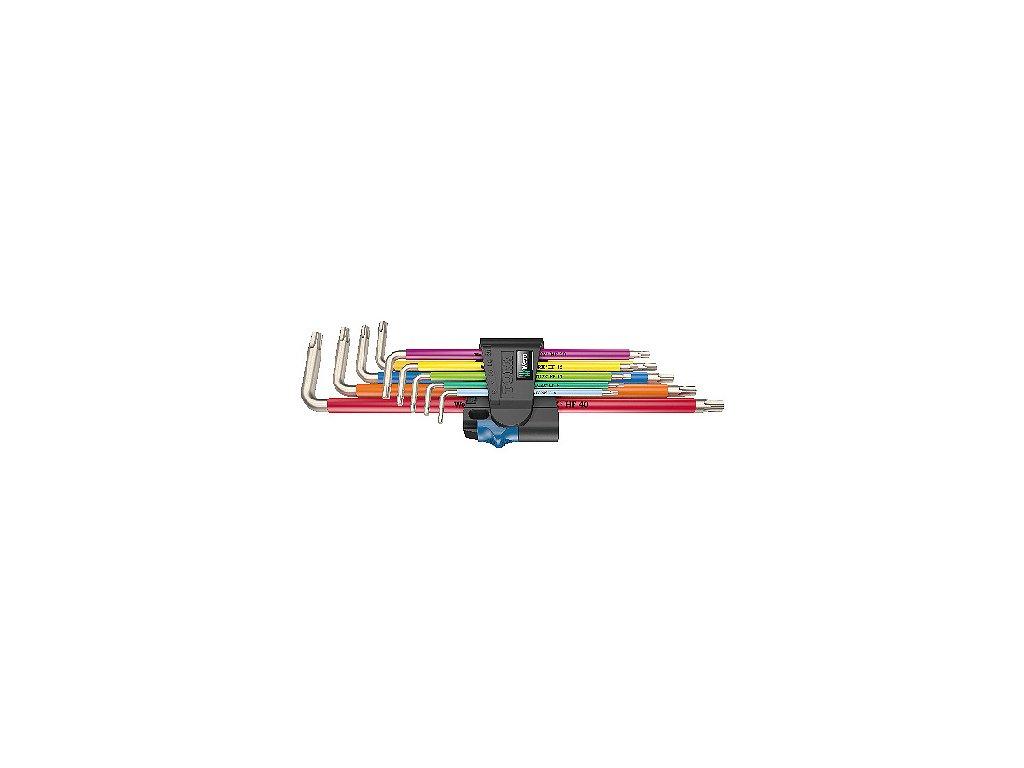 KLÍČE INBUS NEREZOVÉ - SADA 3967/9 TX SXL Multicolour HF Stainless 1