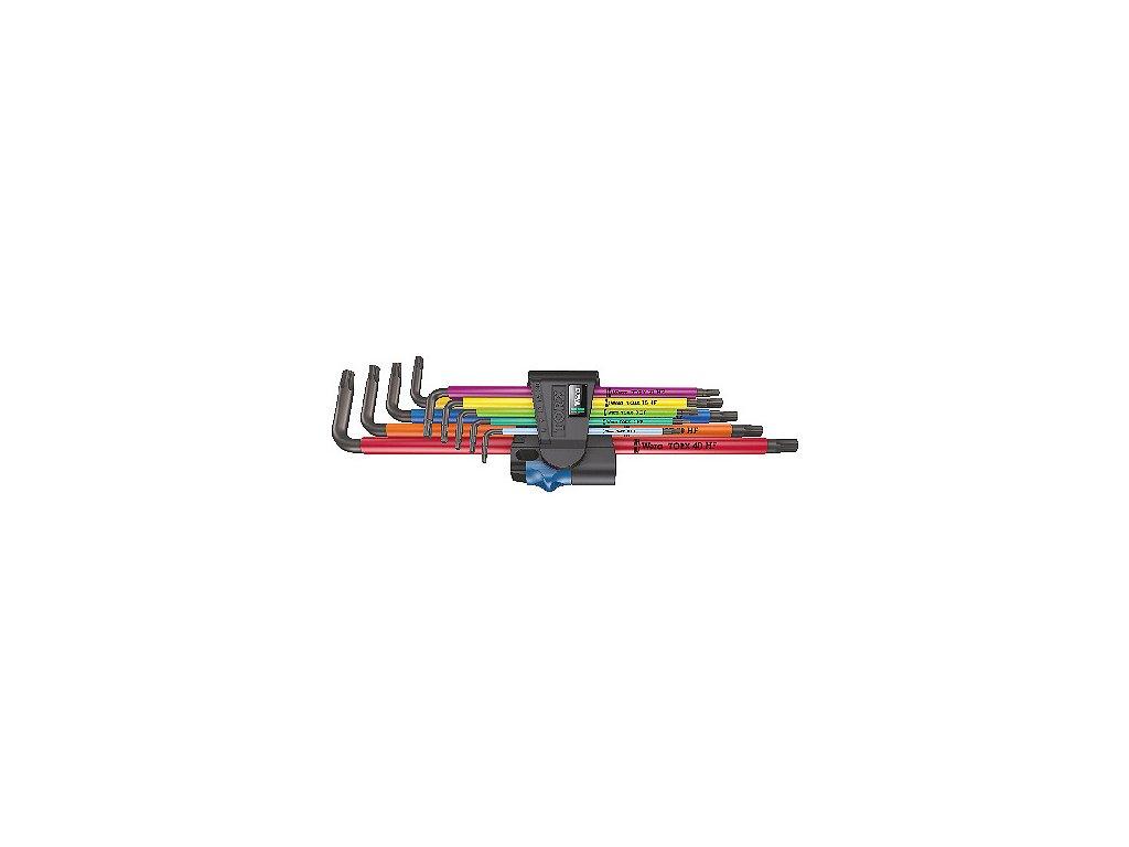 KLÍČ ZÁSTRČNÝ TORX PŘIDRŽOVACÍ  SADA 967/9 TX XL Multicolour HF 1