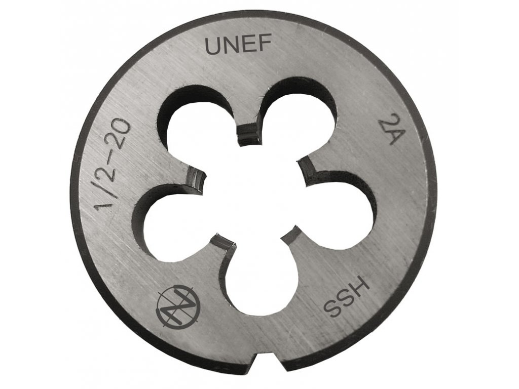 Kruhová závitová čelist /CZO-248/ HSS americký velmi jemný unifikovaný závit CZZ