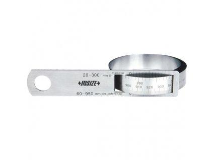 Obvodový a průměrový pásek INSIZE, typ 7114