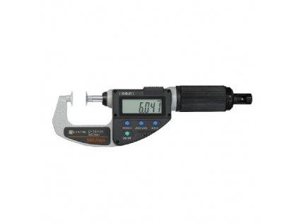 ABSOLUTE DIGIMATIC Třmenový mikrometr Quickmike s talíř.doteky 0-15 mm