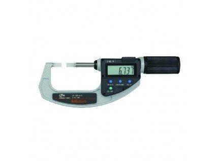 ABSOLUTE Digimatic Třmen. mikrometr s úzkými měř. Ploch. QuickMike IP65 MITUTOYO