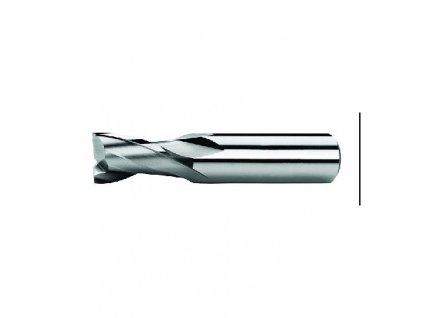 Fréza pro drážky per ZPS, Z2, DIN 327K, HSSCo8, N