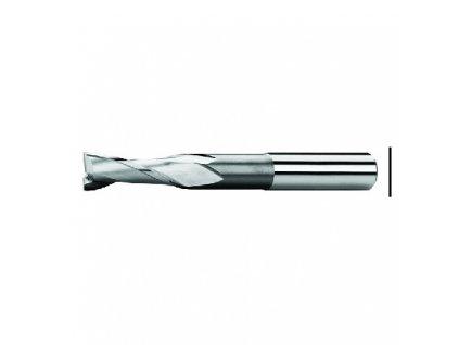 Fréza pro drážky per ZPS, Z2, DIN 327L, s válcovou stopkou, HSSCo8, N