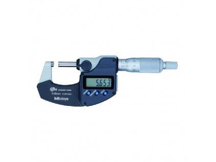 DIGIMATIC Třmenový mikrometr IP65 0-25 mm