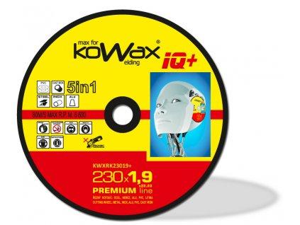 Řezný kotouč KOWAX® IQ+ 5v1 230x1,9