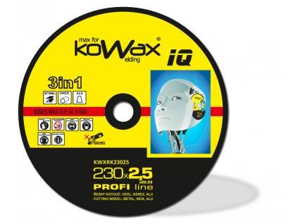 Řezný kotouč KOWAX® IQ 3v1 230x2,5