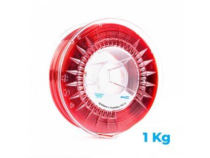 3D STRUNA Z PET-G – ČERVENÁ, 1 KG