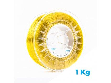 3D STRUNA Z PET-G – KANÁRKOVĚ ŽLUTÁ, 1 KG