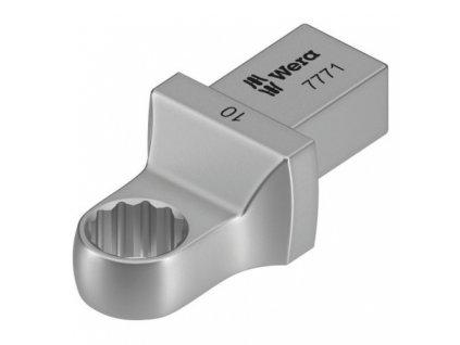 7771 Nástrčný očkový klíč, 9x12 mm WERA