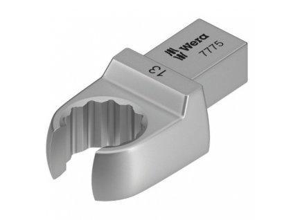 7775 Nástrčný očkový klíč, otevřený, 9x12 mm WERA