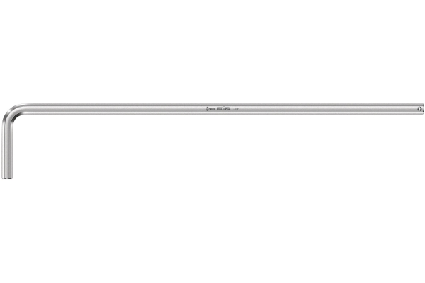 950 L HF Zástrčný klíč, metrický, chromovaný, s přidržovací funkcí WERA Varianta: 3.0 x 126 mm