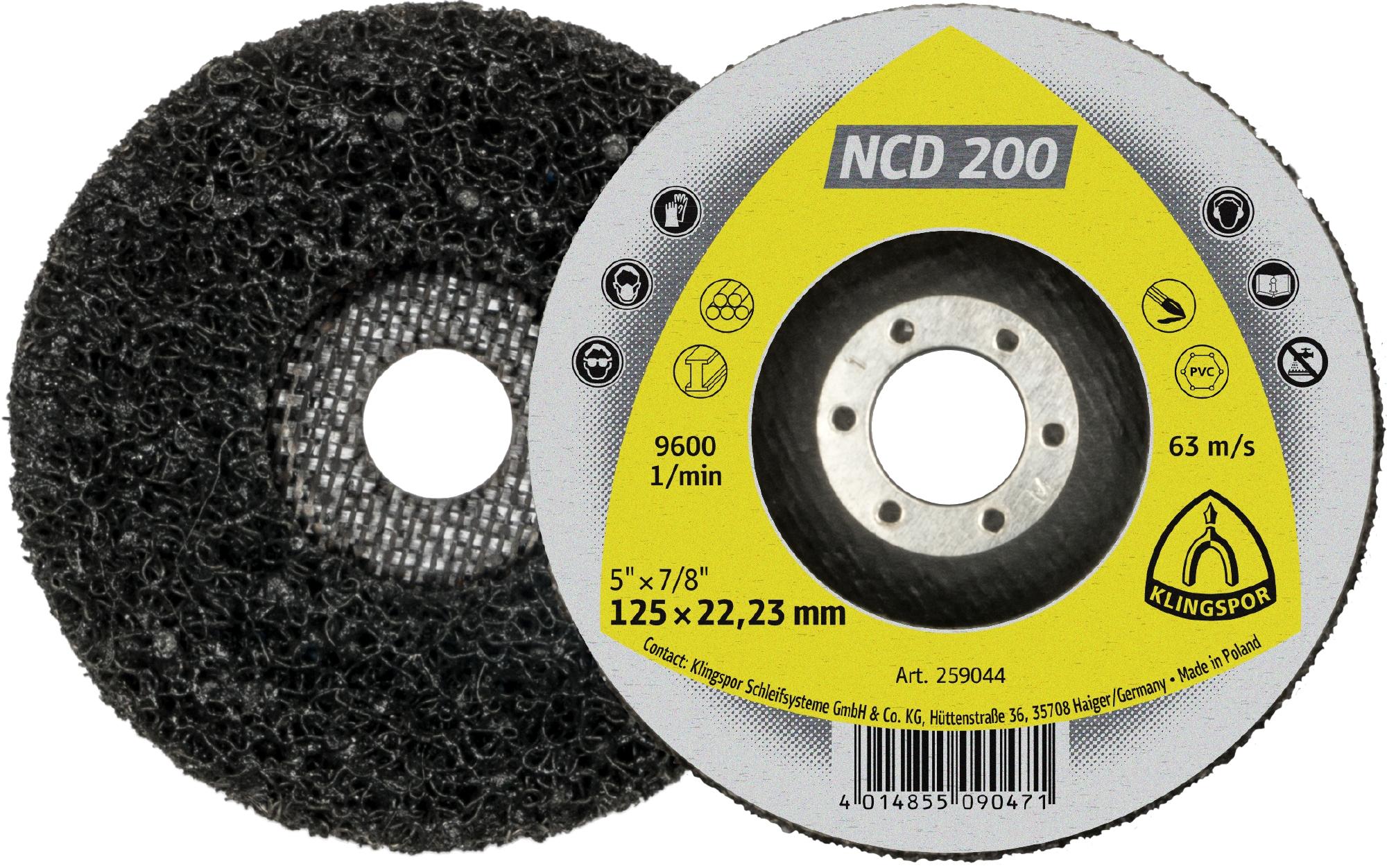 Klingspor Čistící kotouč NCD 200 115X22,23