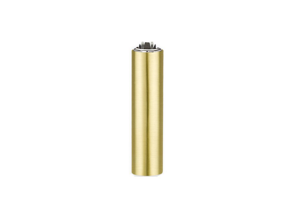 metal cover gold matt