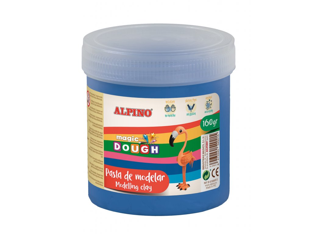DP000148 01 Bote Magic Dough 160 grs. azul
