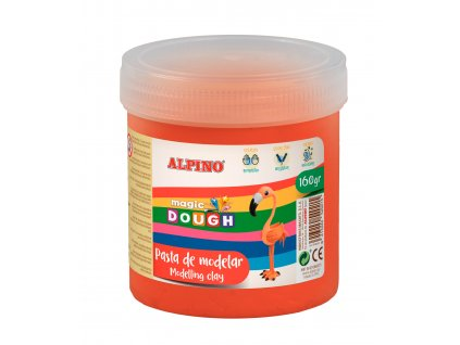 DP000146 01 Bote Magic Dough 160 grs. rojo